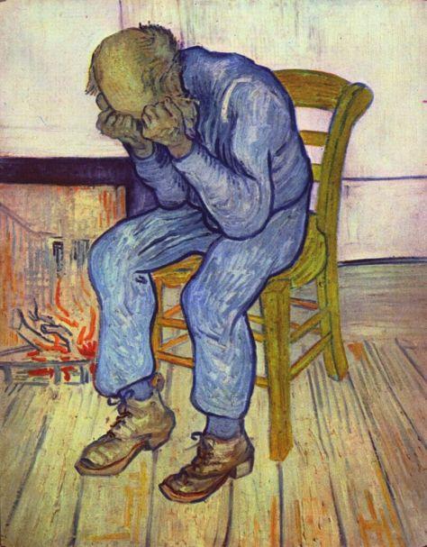 Sorrowing Old Man at eternity's gate Van Gogh